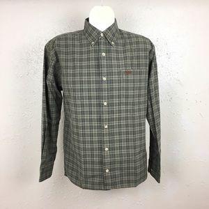 Carhartt Medium Plaid Long Sleeve Button Shirt